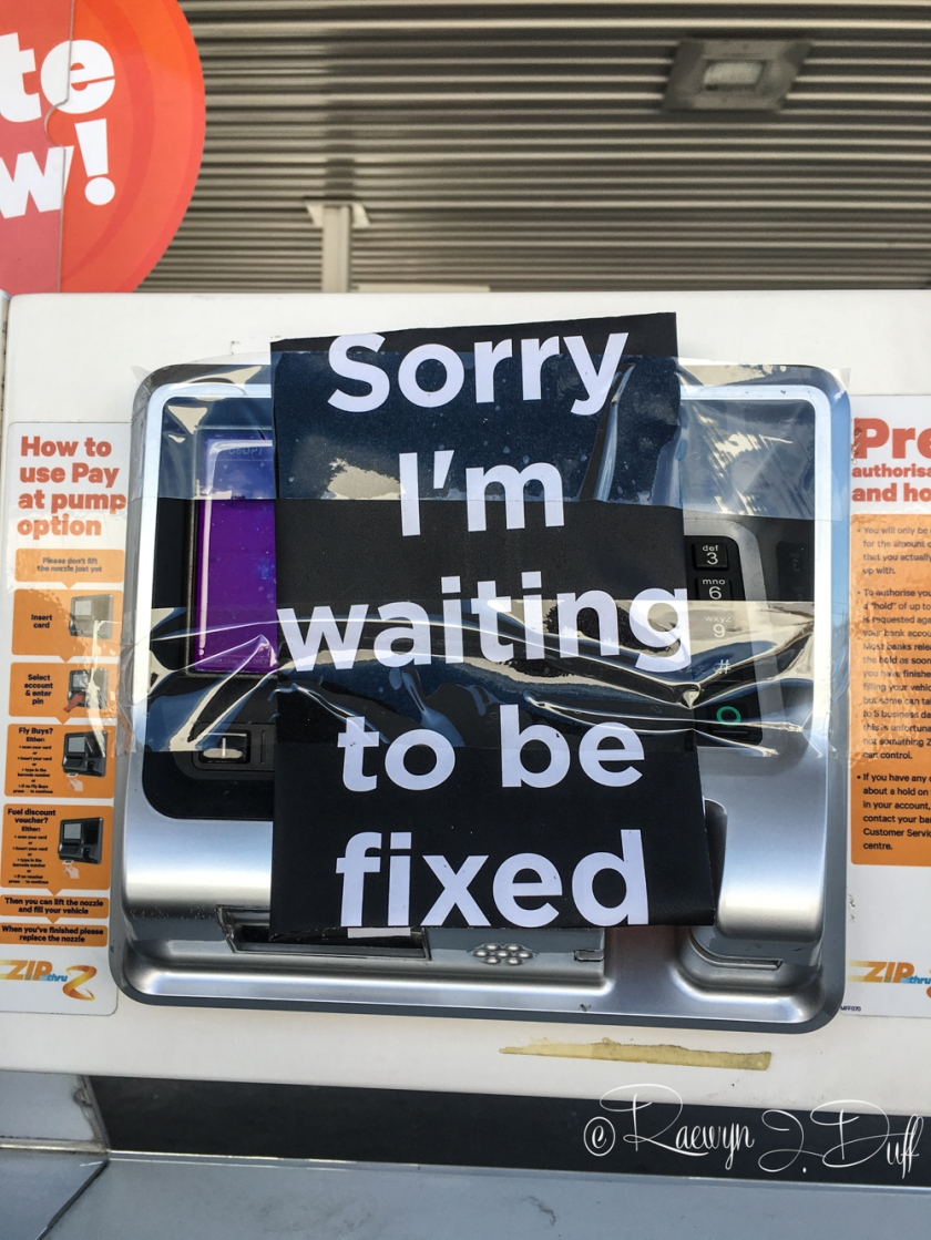 Sorry, out of order-